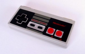 Recycled NES Controller Storage Box