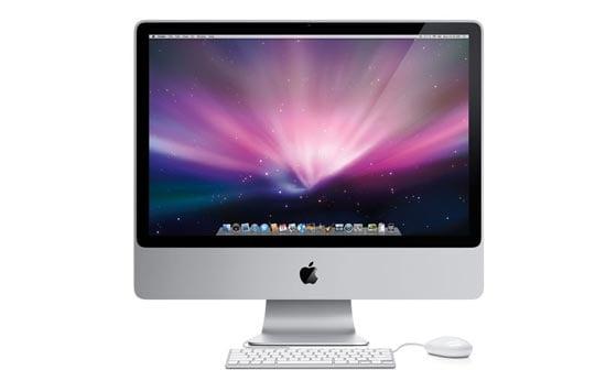 New Apple iMacs