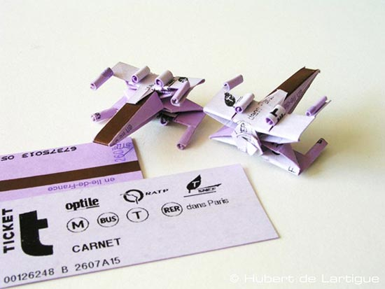 paperfcraft xwing fighter