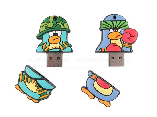 penguin fiughter usb drive