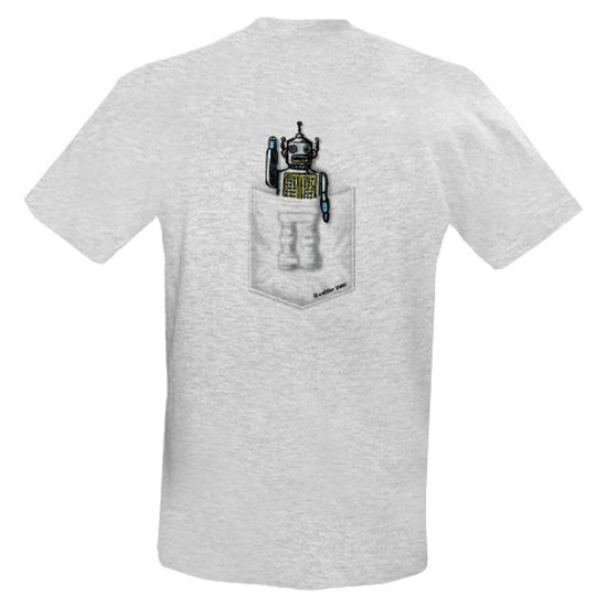 pocket robot tshirt