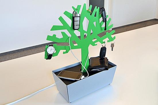 radius tree of charge