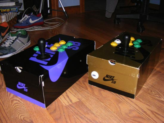 The Shoebox Arcade Stick
