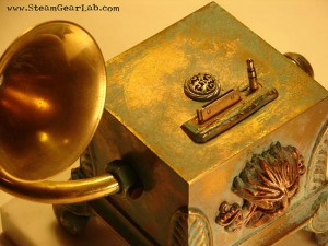Steampunk iPod Mod – eye-Pod