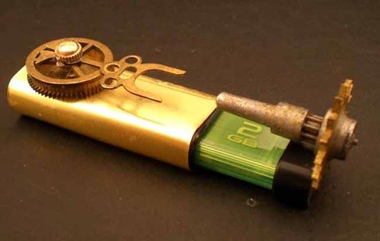 Steampunk USB Jump Drive 2.0