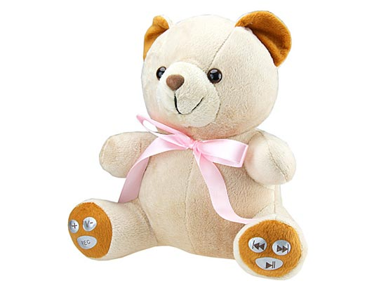 USB Teddy Bear MP3 Player