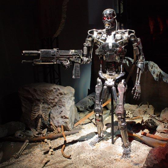 Terminator Robots Exhibition