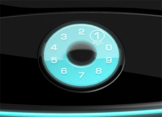 Touchscreen Rotary Phone