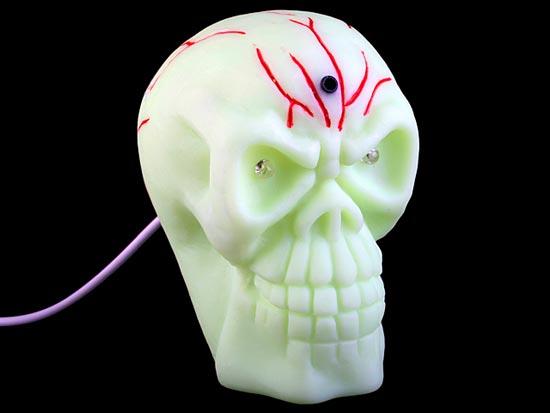 USB Motion Sensor Skull