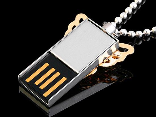 USB Jewel Butterfly Flash Drive