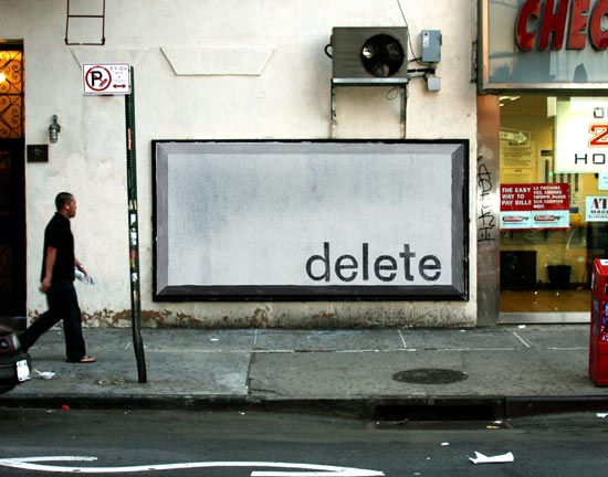 delete key billboard