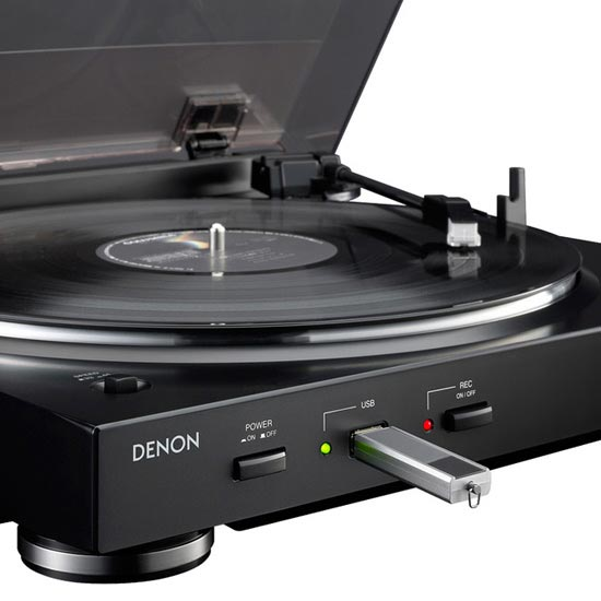 denon dp 200 usb mp3 turntable