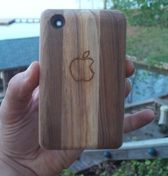Handmade Wooden iPhone Sleeve