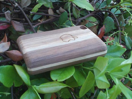 Handmade Wooden iPhone Sleeve