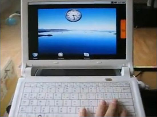 i-Buddie Android Netbook