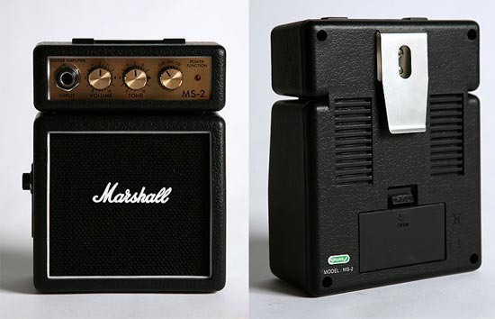 Mini Marshall Amplifier