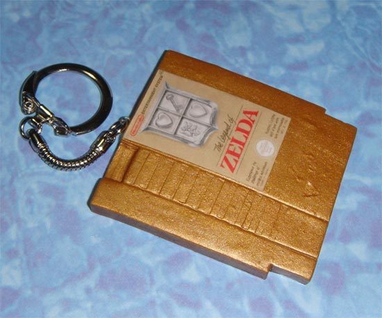 NES Game Cartridge Keychains