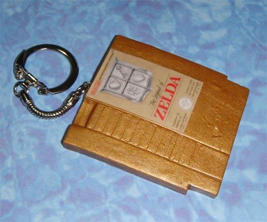 NES Game Cartridge Keychains