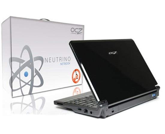 OCZ DIY Neutrino Netbook
