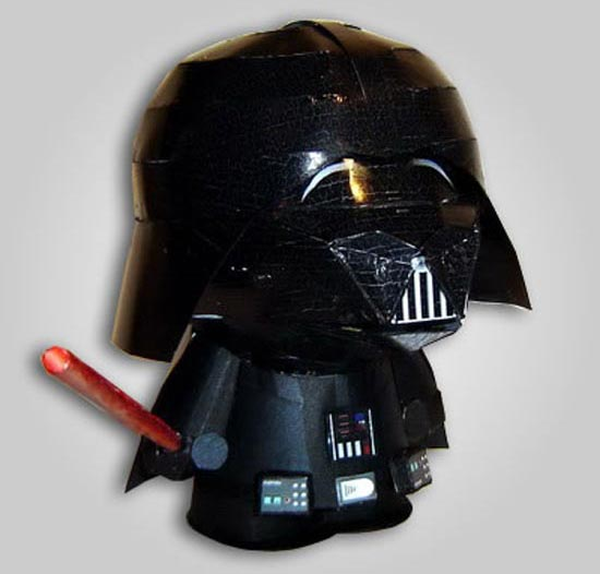 Papercraft South Park Darth Vader