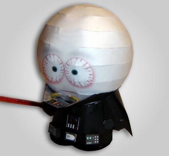 Papercraft South Park Darth Vader