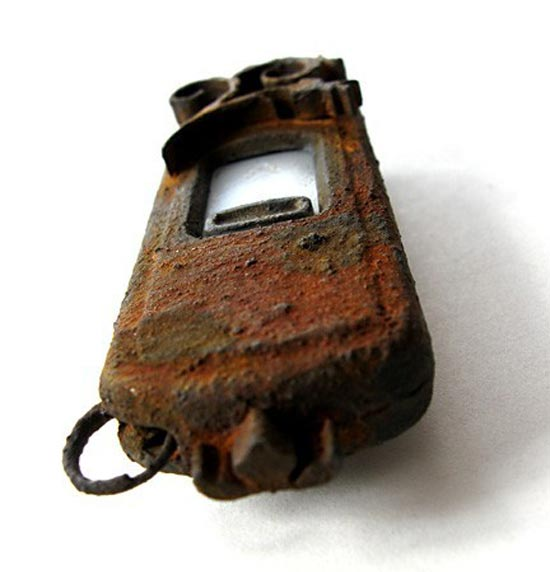 Rusted Steampunk USB Drive 2.0