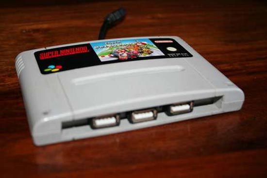 DIY - SNES Cartridge USB Hub