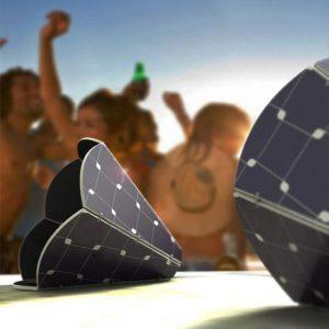 Design – Solar Powered Gramo Speakers