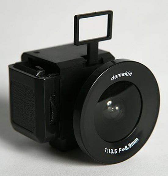 SuperHeadz Demekin Fisheye 110 Camera
