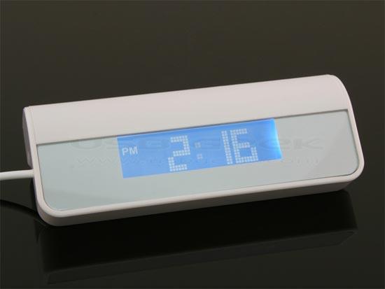USB Hub Alarm Clock