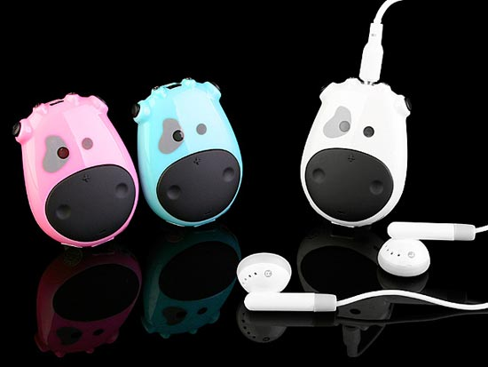 USB Moo Cow MP3 Player
