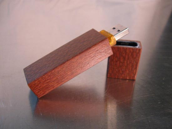 Handmade Wooden USB Flash Drives