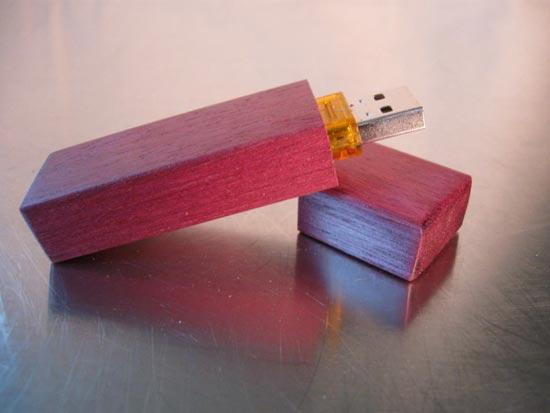 Handmade Wooden USB Flash Drives