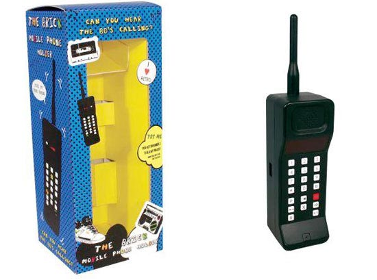 80's Brick Style Mobile Phone Holder