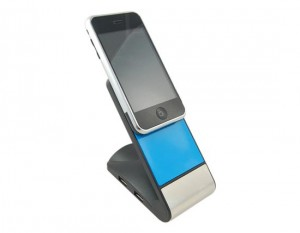 Anti Slip USB Hub Mobile Phone Holder