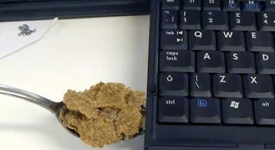 Cereal and Spoon USB Drive