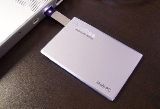 Clickfree Traveler External SSD