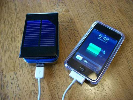 diy solar iphone charger