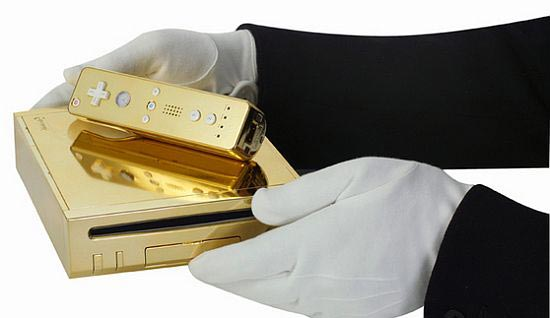 gold plated wii