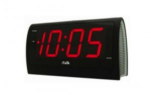 iTalk – The Voice Controlled Alarm Clock