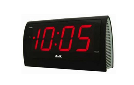 iTalk - The Voice Controlled Alarm Clock