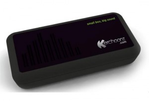 K-Box turns any surface into a speaker