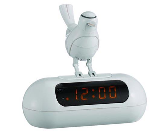 LED Bird Alarm Clock