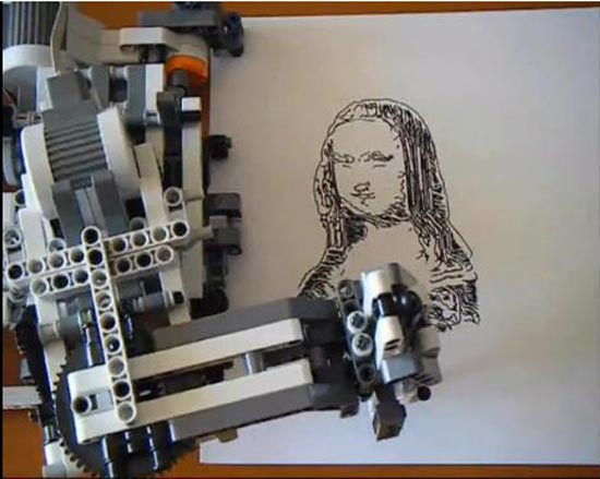 Lego Mindstorms Nxt Drawing Robot