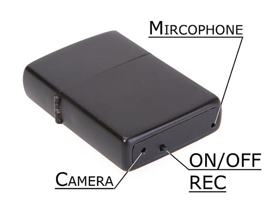 Lighter Spy Camera
