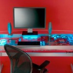 liquid cooled pc desk