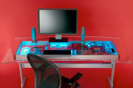 Cool Mods The Liquid Cooled Pc Desk