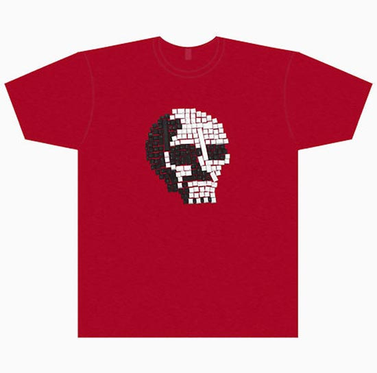 Mac Key Skull T-Shirt