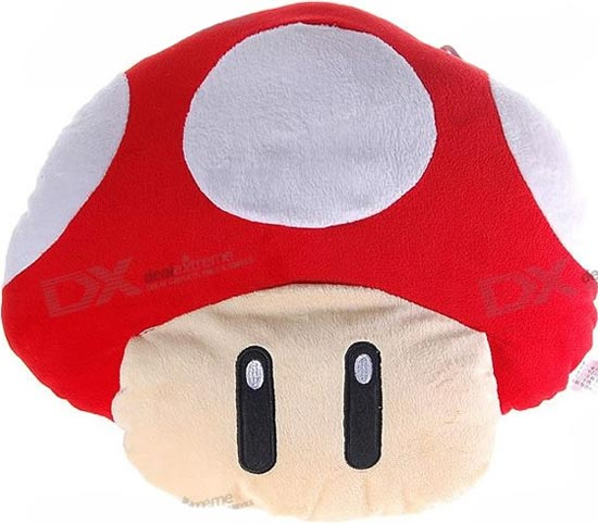 Mario Mushroom Massage Pillow