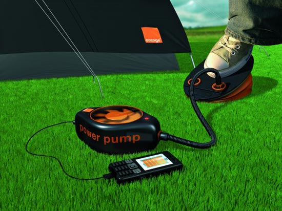 Orange Power Pump